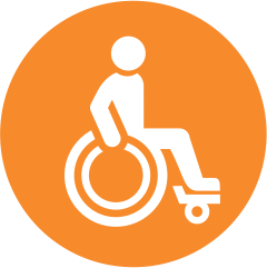 Wheel-chair friendly