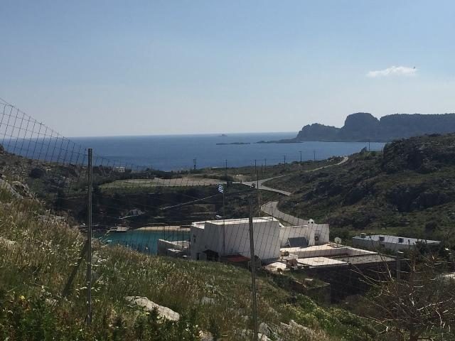 Lindos Spitaki - view over St Pauls Bay